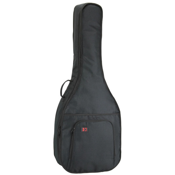 Kaces KQA-120 GigPak Acoustic Guitar Gig Bag, Black