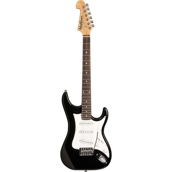 Washburn Sonamaster S1 Solid Body Double Cut Electric Guitar, Black