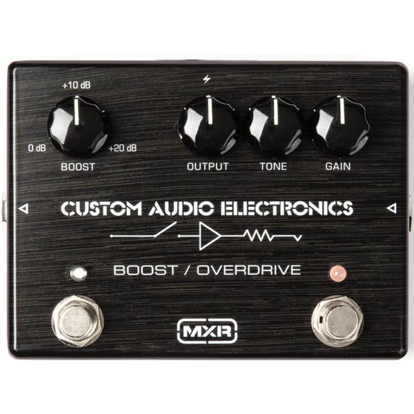 Dunlop MXR MC402 CAE Boost Overdrive Guitar Effects Pedal (MC402)