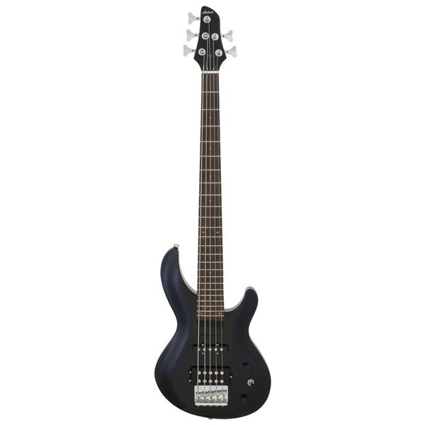 Aria Pro II IGB-STD/5 Carved Top 5-String Electric Bass Guitar, Metallic Black (IGB-STD/5-MBK)
