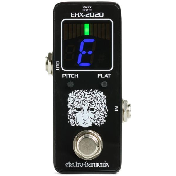 Electro-Harmonix EHX-2020 Chromatic Tuner Guitar Pedal (EHX-MINI-TUNER)
