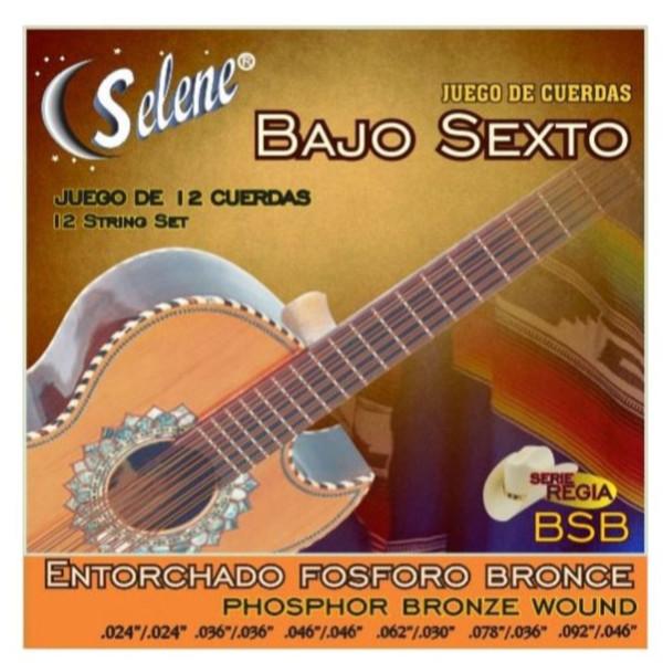 Paracho Elite BS950BR Phosphor Bronze 12-String Bajo Sexto Guitar Strings (BS950BR)