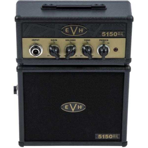 Eddie Van Halen EVH 5150 III EL34 Micro Stack Electric Guitar Amplifier, Black and Gold (022-3534-100)