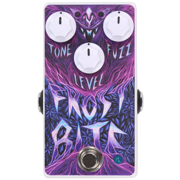 Coffin CFP-HLFBF Haunted Labs Frost Bite Fuzz Effects Guitar Pedal (CFP-HLFBF)