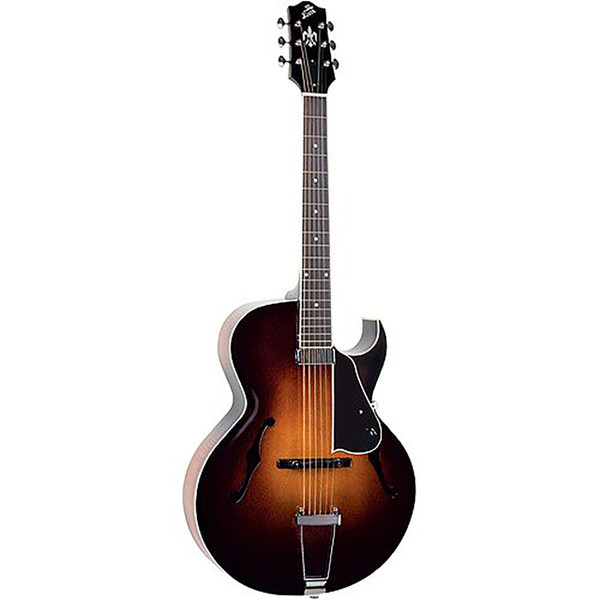 The Loar LH-650-VS Hand-Carved Archtop Acoustic Electric Guitar (LH-650-VS)