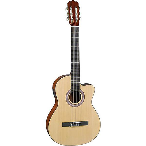 J. Reynolds JR-C10E Cutaway Classical Acoustic-Electric Guitar (JRC10E)