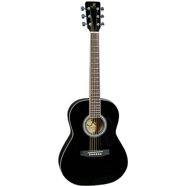 J Reynolds JR14BK 36-Inch Acoustic Guitar, 3/4 Size, Black
