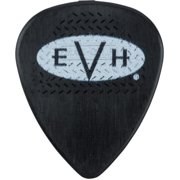 EVH Eddie Van Halen Signature Guitar Picks, Dunlop Max-Grip 1.0mm, 6-Pack (022-1351-405)