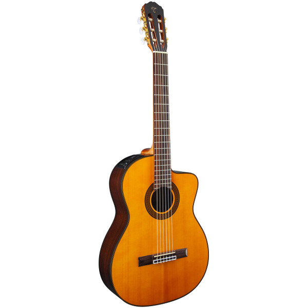 Takamine GC5CE-NAT Nylon String Classical Acoustic Electric Guitar, Natural