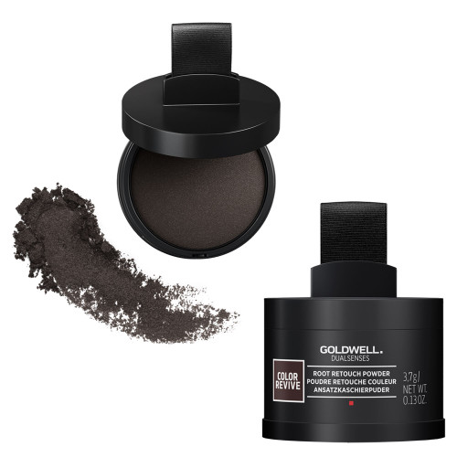 Goldwell Root Touch Up Powder- Dark Brown to Black