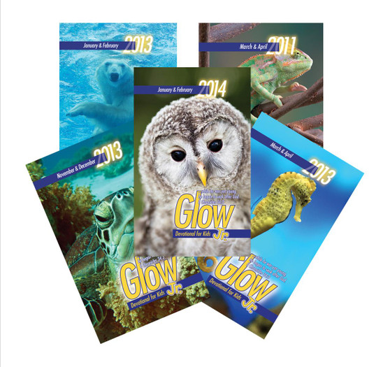 Free Samples: Glow Jr. Devotions for Kids
