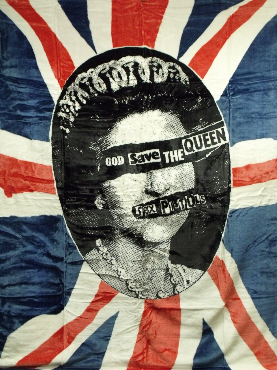 SEX PISTOLS GOD SAVE THE QUEEN - R