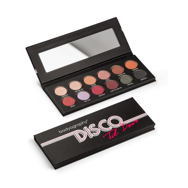 Disco Til Dawn Eye Shadow Palette - Bodyography Cosmetics Australia
