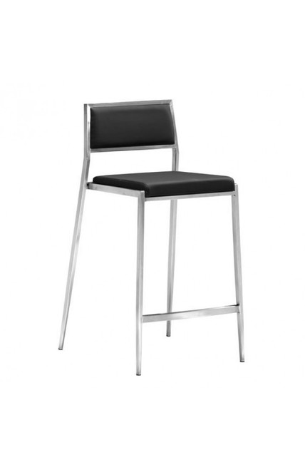 Zuo Modern Dolemite Counter Chair Black