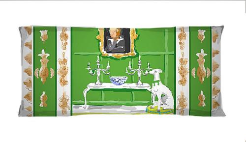 Dana Gibson Green Dog Lumbar