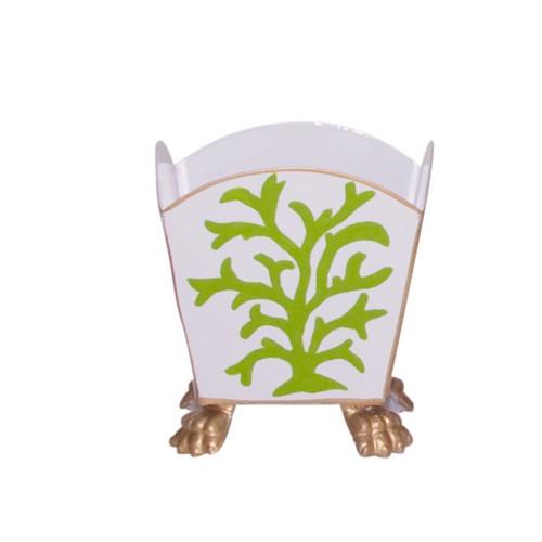 Dana Gibson Green Coral Cachepot - Small
