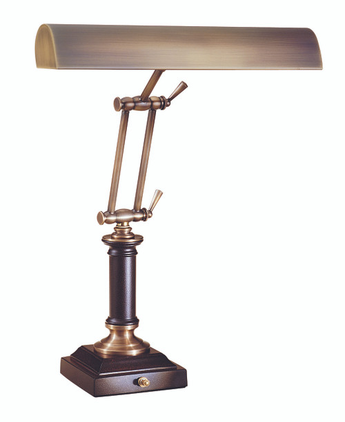 House of Troy Desk/Piano Lamp - Antique Brass