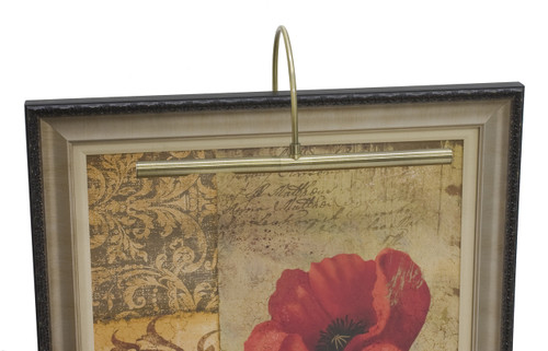 House of Troy Advent Profile Incandescent Picture Light - Antique Brass