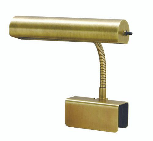 House of Troy Advent Bed Clamp Lamp - Antique Brass