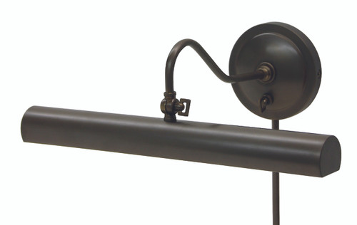 House of Troy Library Adjustable Wall Lamp - Oil Rubbed Bronze