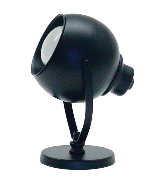 House of Troy Advent Portable Spot Light - Black