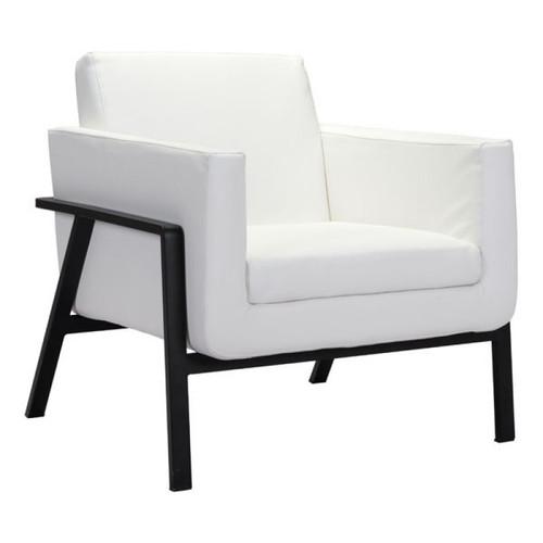 Zuo Modern Homestead Lounge Chair White