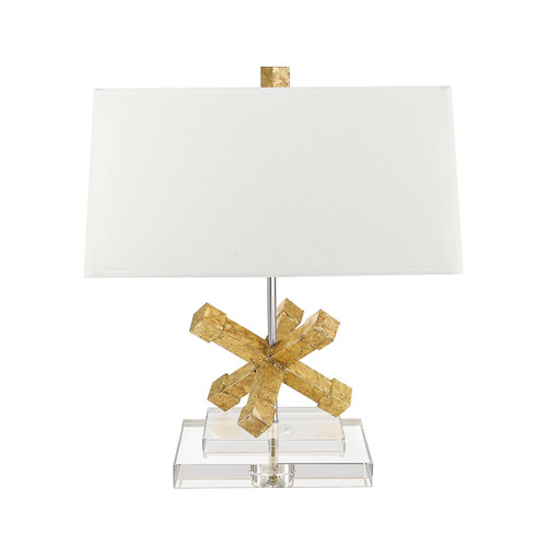 Gilded Nola Jackson Square Table Lamp