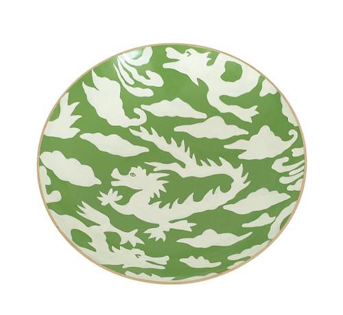 Dana Gibson Green Dragon Bowl, Medium