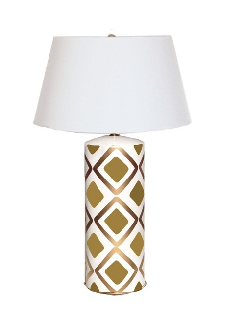 Dana Gibson Haslam Lamp in Brown