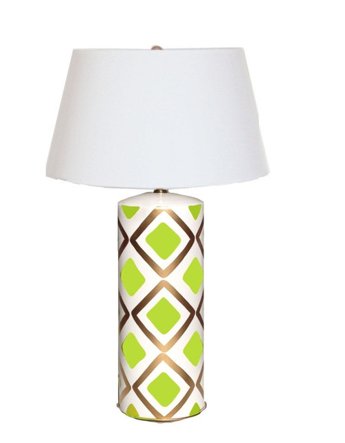 Dana Gibson Haslam Lamp in Lime