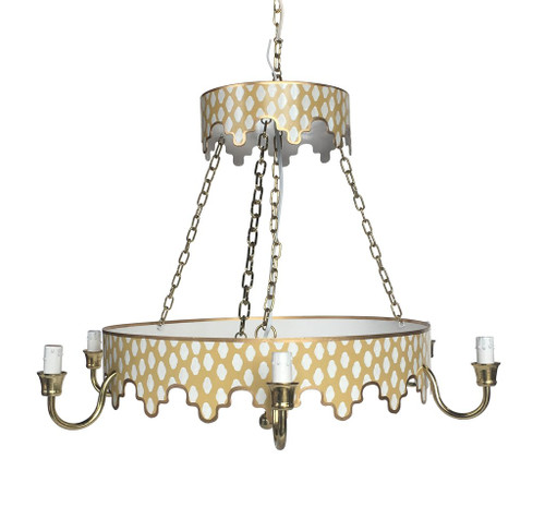 Parsi in Taupe Chandelier