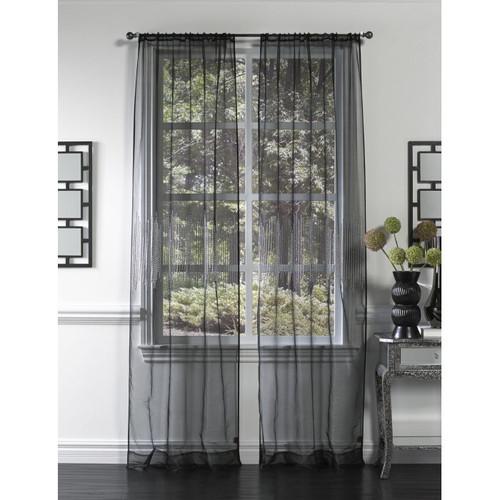 Cloud9 Design Bristol Curtain Panel CD2BPNM-BK