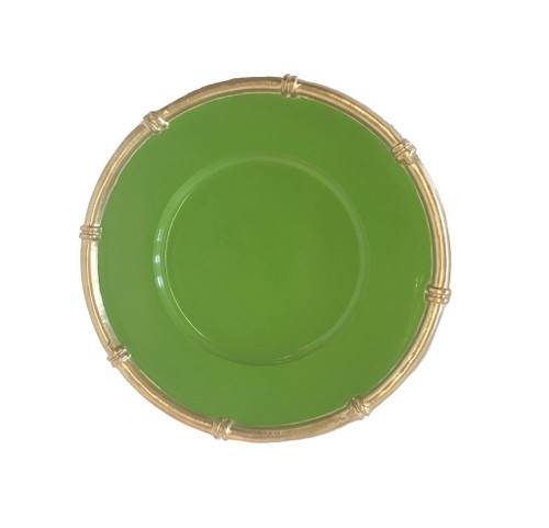 Dana Gibson - Bamboo Charger in Green