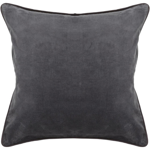 Chandra Rugs CUS-28006 Cotton/Velvet Handmade Contemporary Pillows