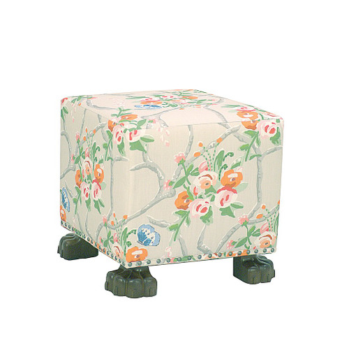 Cottage Bench in Chiswell Chintz