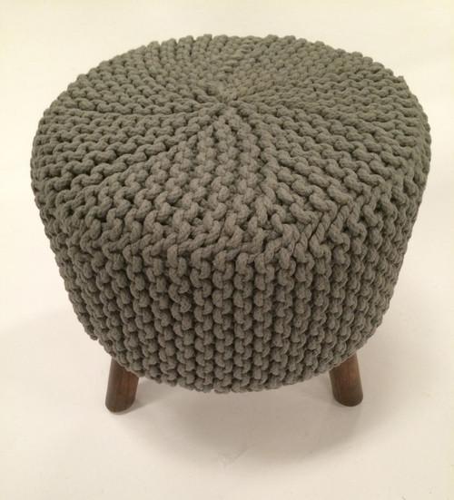 IDA-40407 Grey Handmade Contemporary Stool