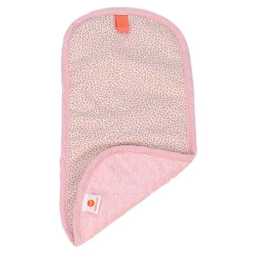 Everly Light Pink Burp Cloths