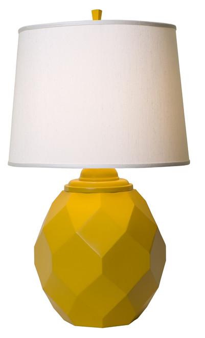 Thumprints Jewel Yellow Table Lamp