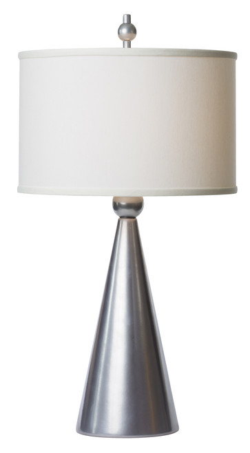 Thumprints Jolly Pop Silver Table Lamp