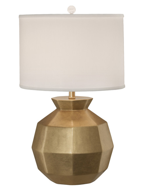 Thumprints Gem Gold Table Lamp