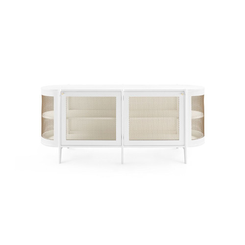 Bungalow, Nadia 2-Door Cabinet White NDA-450-09