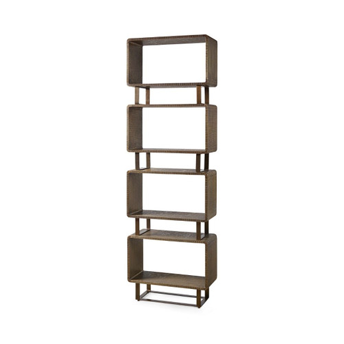 Bungalow, Verra Etagere Antique Brass (VRA-475-803-TB)