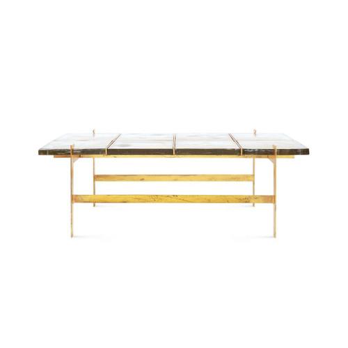 Bungalow, Romeo Coffee Table Gold REO-300-808-TTB