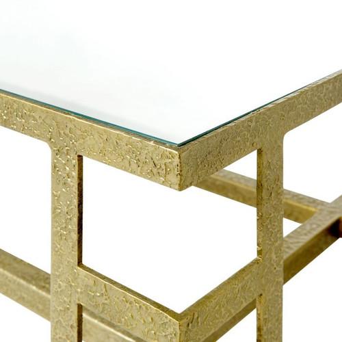 Bungalow, Plano Coffee Table Champagne Bronze PLN-300-814-TB