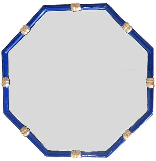 Dana Gibson - Bamboo Mirror in Navy.