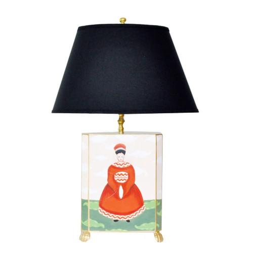 Dana Gibson Empress Lamp