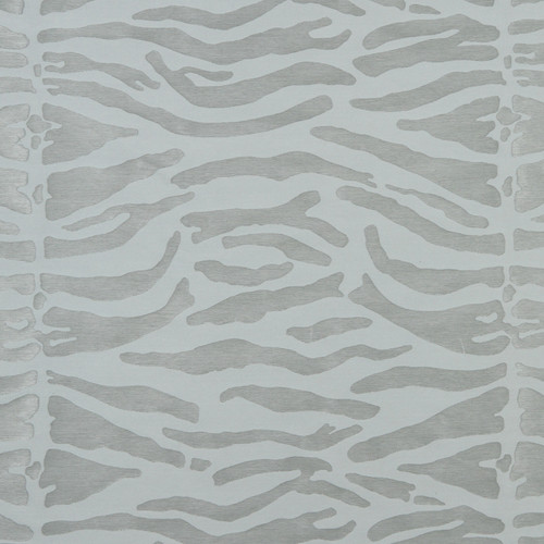 Abstract Zebra - Stone Fabric by Beacon Hill