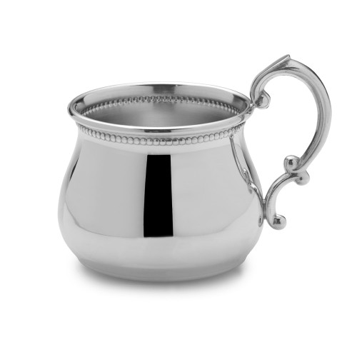 Empire Silver Beaded Baby Cup
