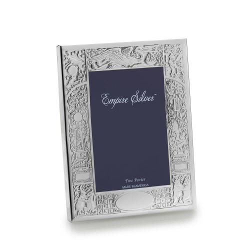 Empire Silver Birth Record Frame