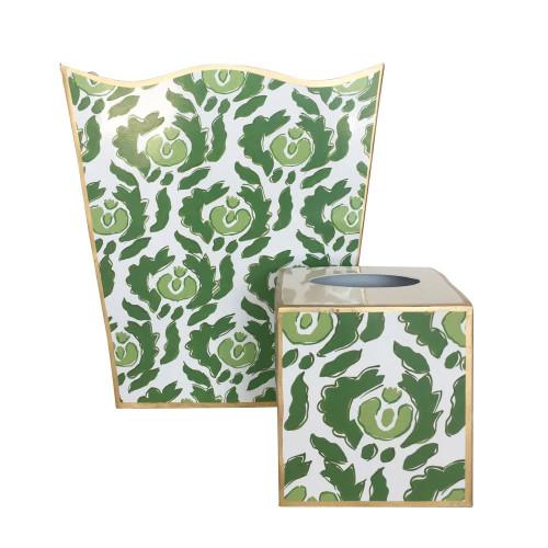 Dana Gibson - Beaufont in Green Wastebasket